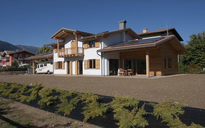 Casa unifamiliare chiavi in mano rovereto trentobiohabitat - Chiavi in mano casa ...