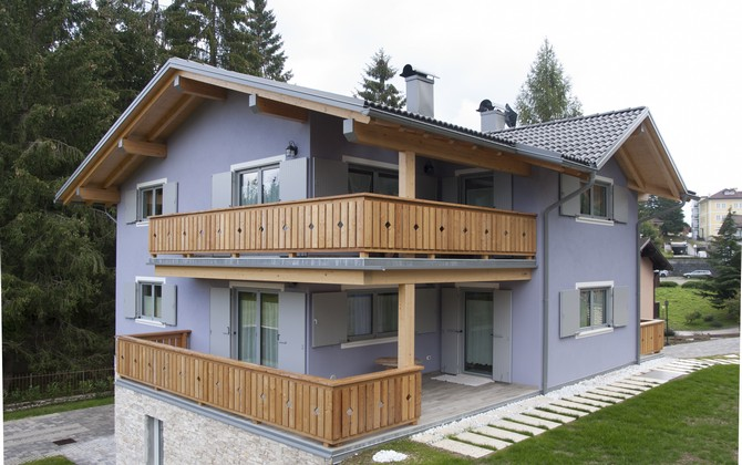 Case in legno trentino biohabitatbiohabitat - Casa prefabbricata prezzi 2017 ...